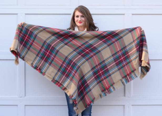 blacnket scarf